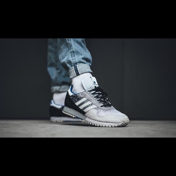 8fae2033cfa Hanon x adidas New York dark storm